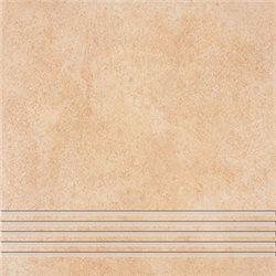 Ceramika Gres Roxy RXY 03 beige stopnica 33 x 33 cm