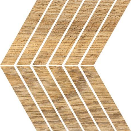 Ceramika Color Wood Essence mozaika 25 x 25 cm