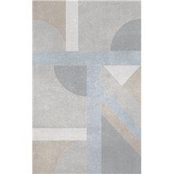 Ceramika Color Porta soft grey dekor 25 x 40 cm