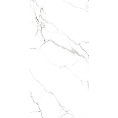 Gres kameň biely lesklý rektifikovaný 60 x 120 cm