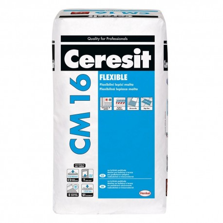 "Ceresit CM 16 – Flexibilné lepidlo ""FLEXIBLE"" /C2TE S1/"