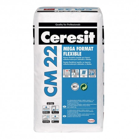 "Ceresit CM 22 - Lepidlo ""MEGA FORMAT FLEXIBLE"" /C2TE S1/"