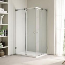 Aquatek INFINITY R14 100x80 ĽAVÝ Sprchový kút obdĺžnikový s dvomi zásuvnými dverami