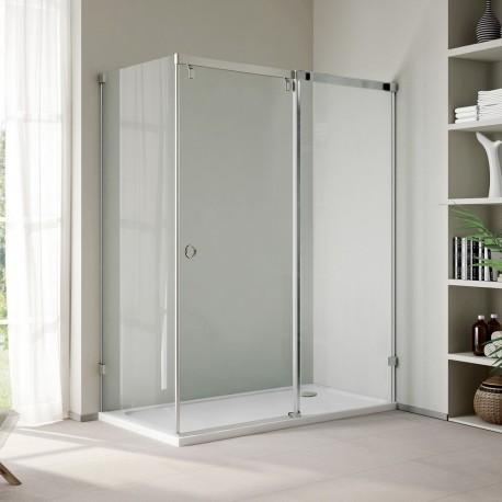 Aquatek INFINITY R43 140x80 ĽAVÝ Sprchový kút obdĺžnikový s jednými zásuvnými dverami