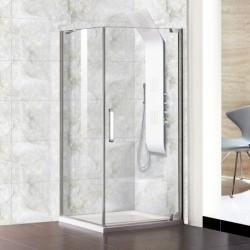 Aquatek PARTY A1 90x90 Sprchový kút štvorcový s jednými otváracími dverami