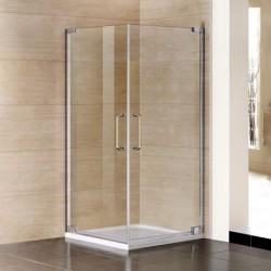Aquatek PARTY A2 90x90 Sprchový kút štvorcový s dvomi otváracími dverami