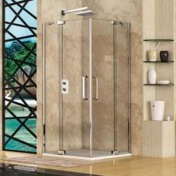 Aquatek PARTY A4 90x90 Sprchový kút štvorcový s dvomi otváracími dverami