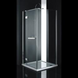Aquatek CRYSTAL A3 90x90 Sprchový kút štvorcový s jednými otváracími dverami