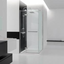 Aquatek VIP2000 A3 90x90 Sprchový kút štvorcový s jednými otváracími dverami