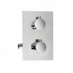 Aquatek PG-1017A-2 sprchová podomietková batéria termostatická okrúhla 2