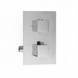 Aquatek PG-1017-3 sprchová podomietková batéria termostatická hranatá 3