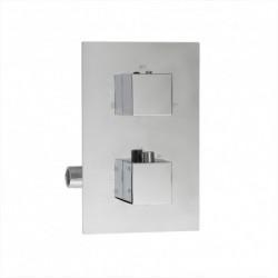 Aquatek PG-1017-2 sprchová podomietková batéria termostatická hranatá 2
