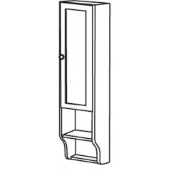 Sapho RETRO skrinka k zrcadlu 25x115x20cm, starobiela, pravá
