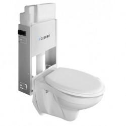 Aqualine WC SADA závesné WC Taurus s nádržkou a tlačidlom Geberit, pre zamurovanie