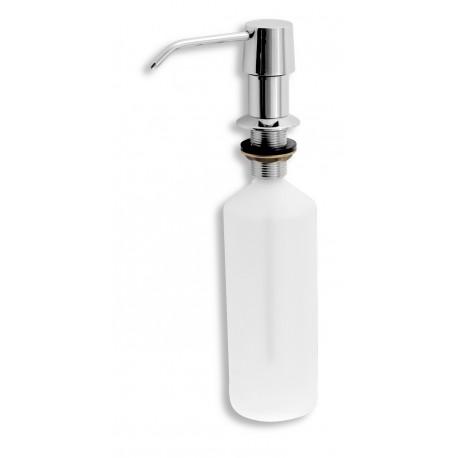 Novaservis Dávkovač prostriedku na umývanie riadu, objem 500 ml, chróm